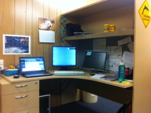 My desk of PhD awesomeness!