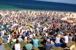 Over 6,000 people attended just one anti-cull shark rally in WA