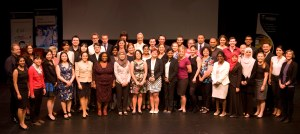 All the competitors from the 3MT Trans-Tasman 2014 competition at UWA