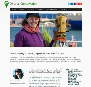 Discover Conservation_Sarah Interview