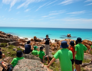"Me giving a whale talk to Year 7's from Dunsborough Primary School at ""Bay OK Day"""