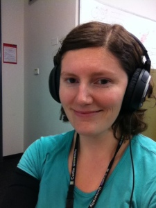 Hard-core headphones are becoming my default fashion accessory at the moment...