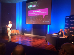 Taking the Stage at FameLab Australia WA Competition