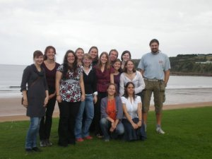 Masters Marine Mammal Science - Class of 2008-09