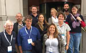 Members of CMST attending the Aquatic Noise 2016 Conference in Dublin